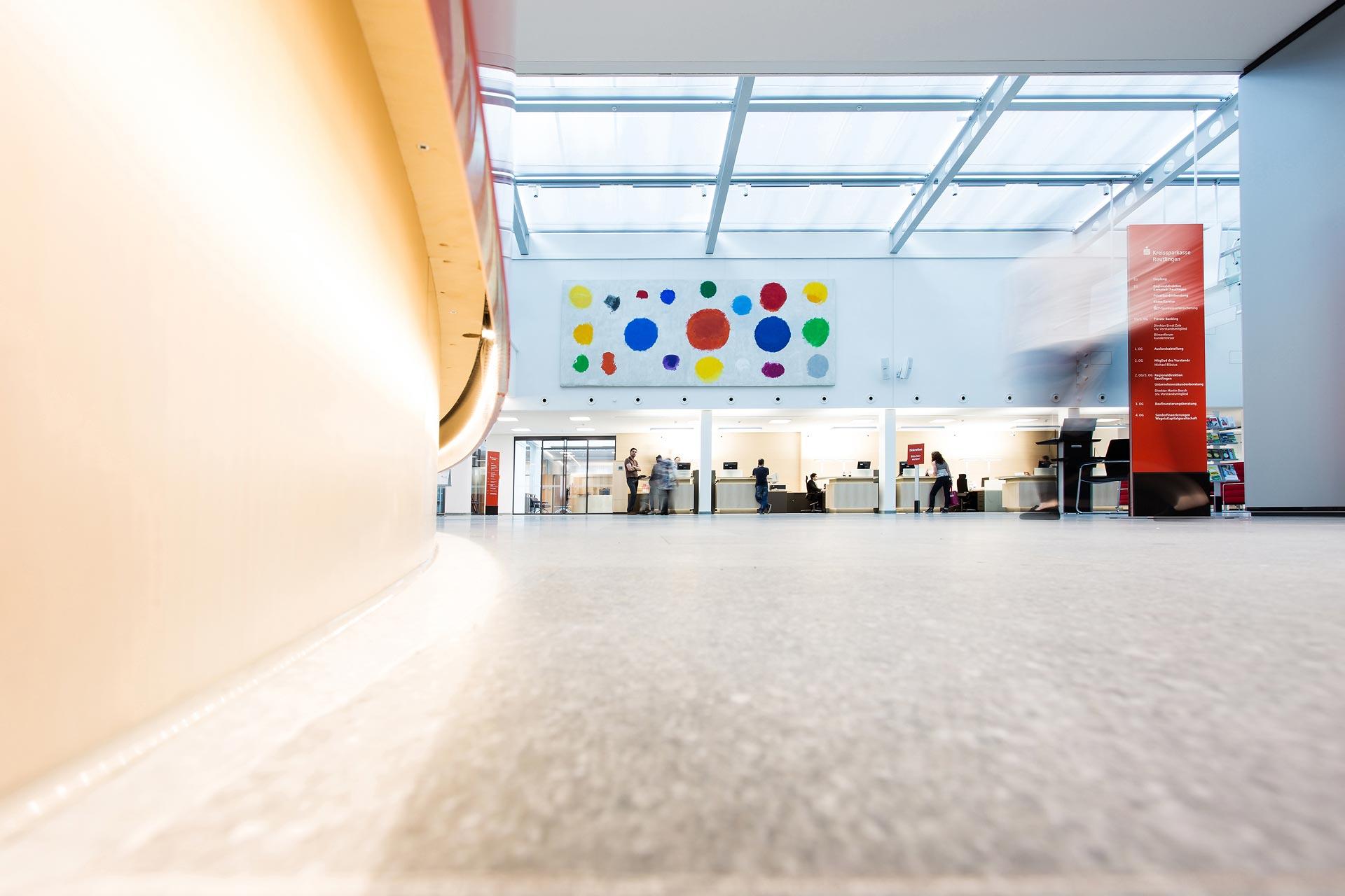 Kreissparkasse Kundenhalle Reutlingen